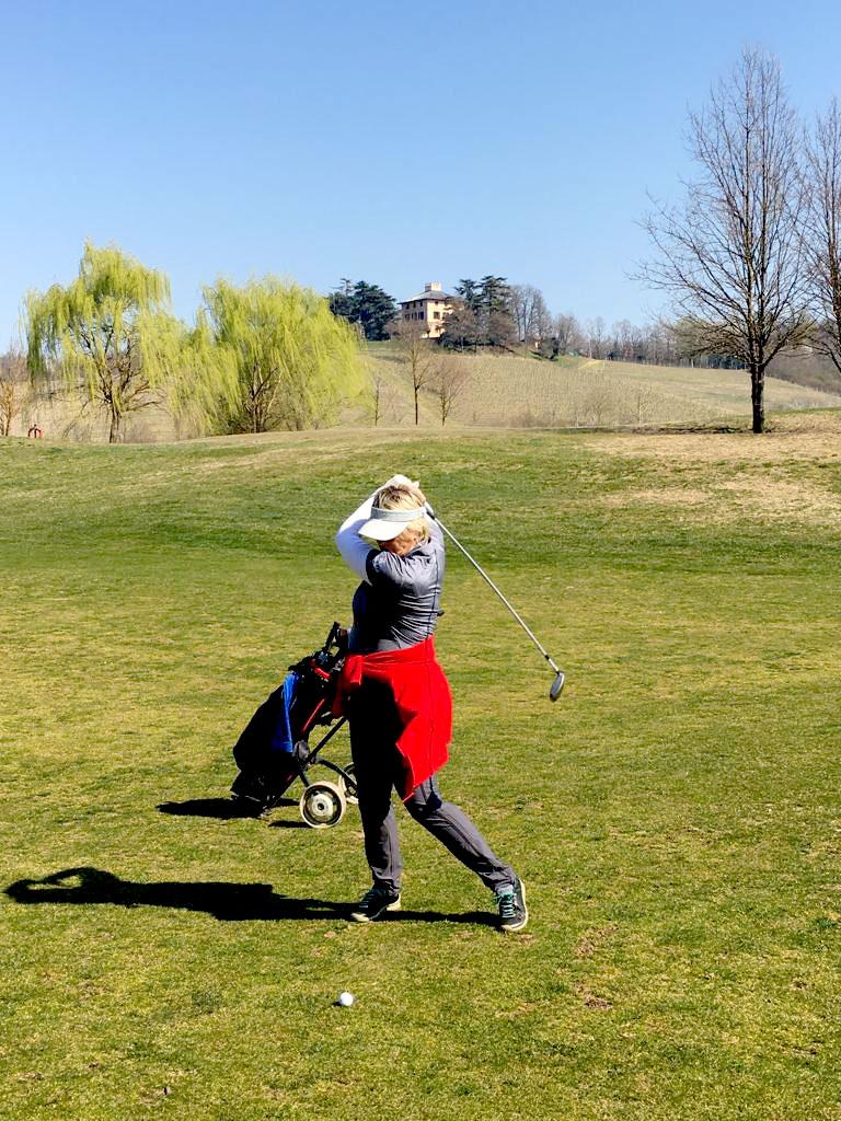 Auch Golf-Freunde kommen auf dem Golfplatz auf ihre Kosten.