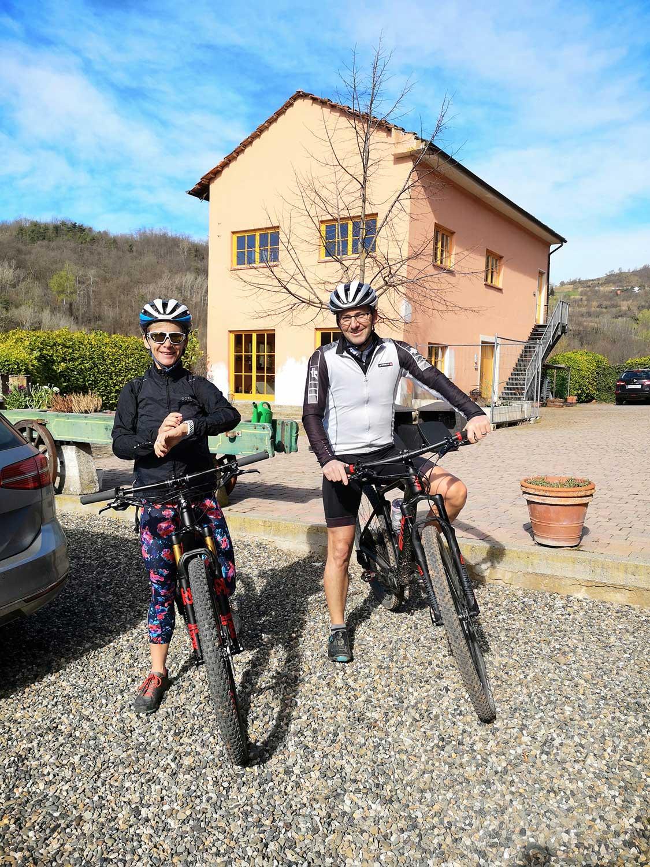 Montabone und die Umgebung sind bei Radfahrern sehr beliebt.